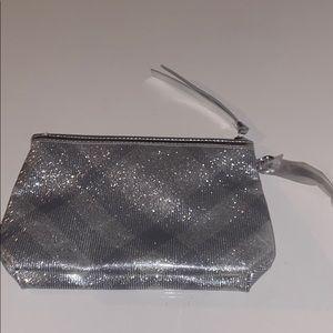 Glitter Burberry pouch